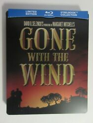 Gone With The Wind Blu-ray Steelbook Canadian Exclusive Region Free J-card