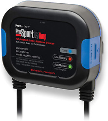 Marine Battery Charger Promariner 44001 Prosport 1.5 Maintainer 1.5a 120v 1 Bank