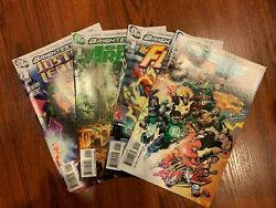 Dc Brightest Day Comics Flash Green Arrow Justice League Lot And 24x36 Poster Sdcc