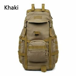 Backpack Molle Camping 60l Tactical Bag Hiking Outdoor Military Rucksack Hunting