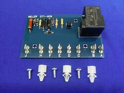 Usa Fits Miller Welder Idle Idler Control Pc Board 071-609 And 049-443 Big 20 40