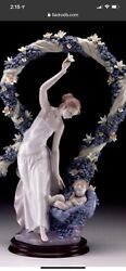 Pre-owned Lladro 6571 Rebirth Brand Nib Mother And Child Flowers Retired Rare