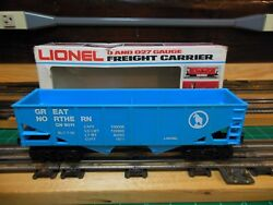 Lionel 6-9011 O27 Scale 2-bay Coal Hopper Great Northern
