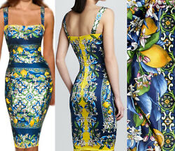 GORGEOUS! DOLCE & GABBANA SILK dress size 42 $3000.00