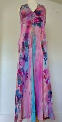 New J.crew Short Summer Maxi Party Dress Red Navy Blue Pink Peach Halter Large