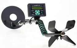 Ugraded Metal Detector W/ Lcd Screen Search Depth Up To 6.5 Feet 8 Hrs