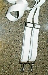 Bimini Top Straps 2 Top Notch Double Hook Stainless Steel Adjustable 60 Max