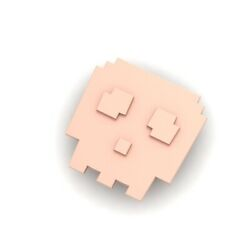 Puzzle Game Lapel Pin Rose Gold Tie Pin Suit Wedding Accessories Free Shipping
