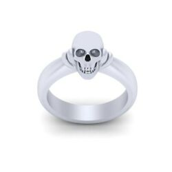 Symbol Of Death Skull Ring Womenand039s 925 Sterling Silver Gothic Skull Wedding Ring