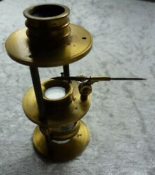 Antique Brass Withering Type Botanical Microscope - C1800