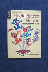 Huckleberry Hound Chuckleberry Tales 19 Touche Turtle1963fn-vf+ - 8.5