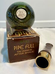 Vintage Avon Pipe Full Tai Winds 2 oz. After Shave Full Bottle NOS Box