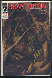 Swamp Thing 93, March 1990 Dc Comic Book, Vf+++