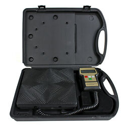 220 Lbs For Hvac With Case Digital Refrigerant Electronic Charging Scale Meters