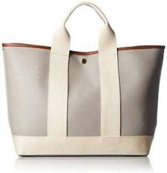New Topkapi Scotch Grain Neo Leather A4 Tote Bag Light Gray From Japan F/s