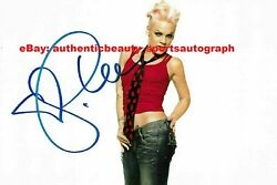Pink Alecia Beth Moore Punk Rock Sexy Auto Signed 12x18 Poster Photo Reprint Rp