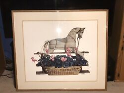 Nancy Noel 1/1 Extremely Rare Print To A Friend Large Signed Dated 39andrdquox 44andrdquo Wow