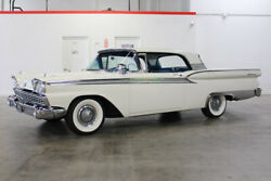 1959 Ford Galaxie  1959 Ford Galaxie 72087 Miles White Retract Hardtop