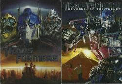 The Transformers And Revenge Of The Fallen Dvd Set