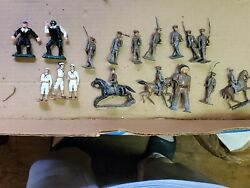 Vintage Barclay Manoil Toy Soldiers Lead Lot Figures Very Rare Sailors Antique