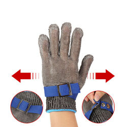 Steel Wire Anti-cut Gloves Safety Cut Proof Stab Level 5 Resistant Protective