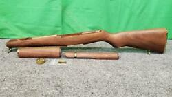 Boydand039s M1 Garand Wooden Stock - Gold Plated Hardware - Excellent Sha Ss2045785