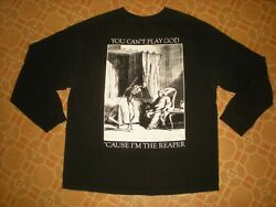 Suburban Scum Long Sleeve 2/s T Shirt You Canand039t Play God And039cause Iand039m The Reaper