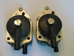 New Johnson Evinrude Outboard Motor Fuel Pump Pair Model Number 398386