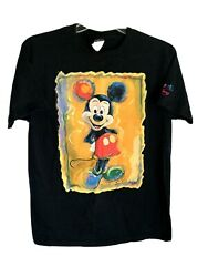 Vtg Art Of Disney By Artist Eric Robison Mickey Mouse Tshirt Sz M Exclusive Rare