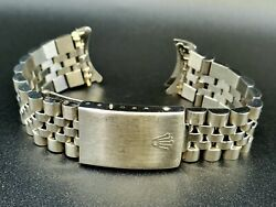 Rolex 20mm Stainless Steel Vintage Jubilee Watch Band