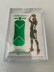 2015-16 Panini Flawless Justice Winslow 1/5 Gold Real Emerald 140rare Rc Sealed