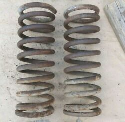 1954 Ford Front Coil Springs Original Pair 15 Tall