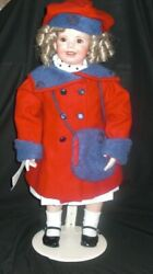Shirley Temple 25 Porcelain And Cloth Doll Only 30 Made