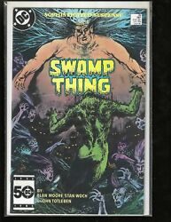 Swamp Thing, 38, Dc Comic Book, 1985, Vf+++, Should Grade Over 9.0