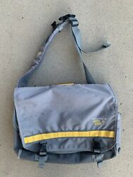 Mountain Hardware Sentinel Jr. Messenger Backpack Bag Grey Yellow 20L Cross Body $30.00