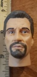Brown Haired bearded for 12#x27; figure Body used with 1 6 scale items #917