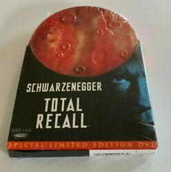Total Recall Special Limited Edition Dvd Tin Can - Region 1