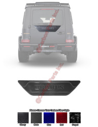 W463a Glossy Carbon Rear Door Attachment Brabus Style Mercedes G-class W464 G63