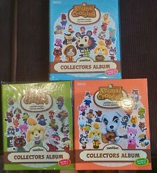 Animal Crossing Amiibo Series 1 2 And 3 Albums Folders- 2 Full 1 And 3 Almost Full