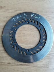 Yamaha Rd500 Rz500 Rd Rz 500 Front Brake Disc Right Ventilated 31a2583101