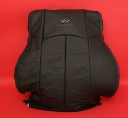08-13 G37 Front Left Upper Leather Bucket Seat Cover Oem 1-5 Day Delivery