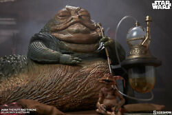 Sideshow Jabba The Hutt And Throne Deluxe Star Wars Sixth Scale Figure New In Box