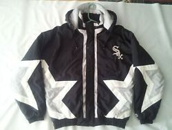 Vintage Rare Starter Chicago White Sox Full Zipp With Hood Jacket In Size S