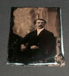Rare Vintage Tintype John Wilkes Booth But It Is Signed John Bartles