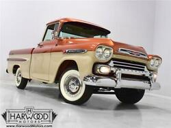 1959 Chevrolet Other Pickups  1959 Chevrolet Apache  24490 Miles Copper and Beige Pickup 350 Cubic inch V8 EF