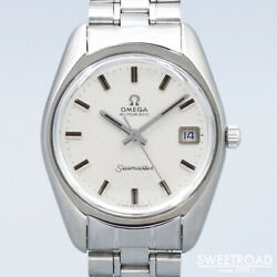 Omega Seamaster 166.067 Vintage Cal.565 Ss Automatic Mens Watch Auth Works