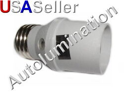 Coleman Cable Outdoor Light Control E27 Screw Light Bulb Socket With Photocell