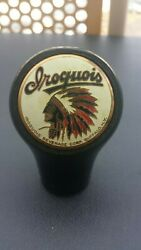 Vintage Iroquois Beer Ball Knob Tap Handle - Late 1930and039s - Buffalo New York