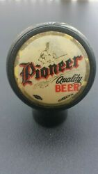 Vintage Pioneer Beer Ball Knob Tap Handle - Late 1930and039s - Aberdeen Wa