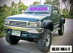 Jungle Off-road For Toyota Hilux Mk4 Mk5 1997-2004 Ute Fender Flares Wheel Arch
